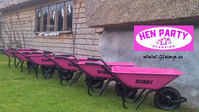 Glamping Barrows at Hen Party Glamping Ireland