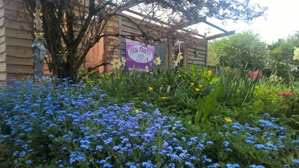 Hen Party Glamping Gardens